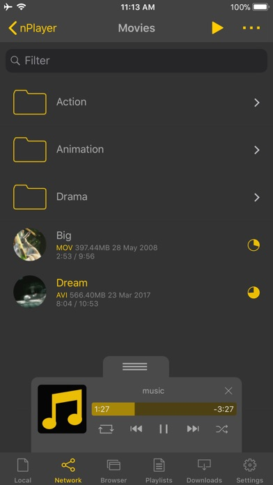 nPlayer Plus Screenshots