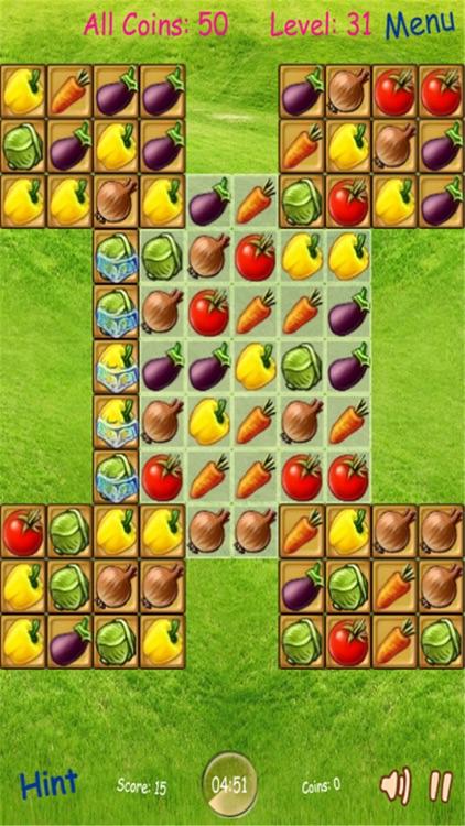 Fruit Match 3 Puzzle