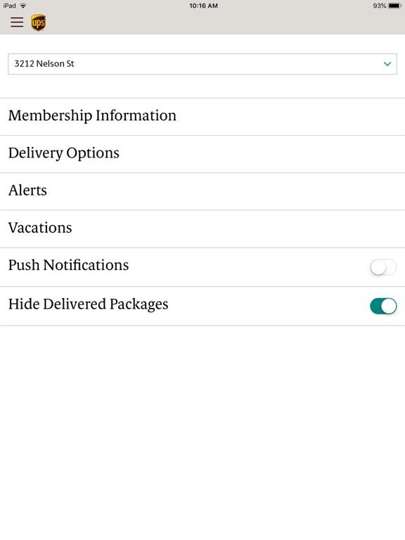 UPS Mobile iPad