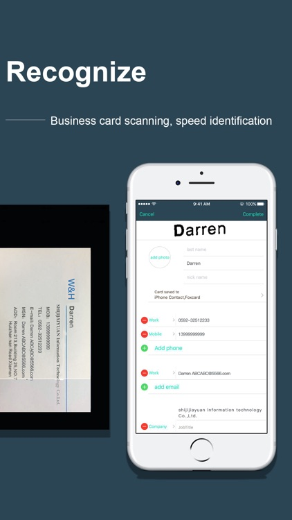 Card Scanner -- Foxcard pro screenshot-4
