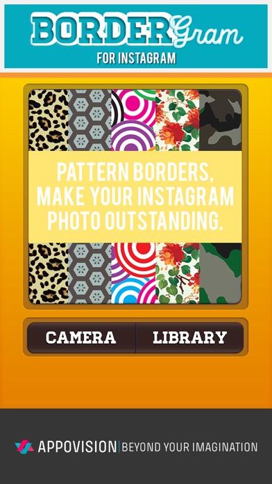BorderGram - No Crop Photo