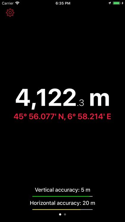Up High - Barometric Altimeter