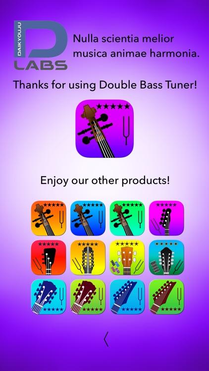 Double Bass Tuner Professional screenshot-9