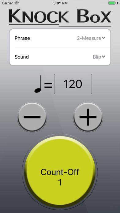 Knock Box Metronome screenshot two