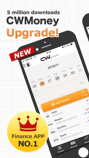 ‎CWMoney Pro - Expense Tracker