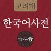 고려대 한국어사전 2012