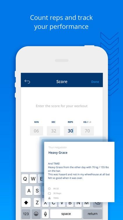 WODProof - Challenge your best screenshot-3