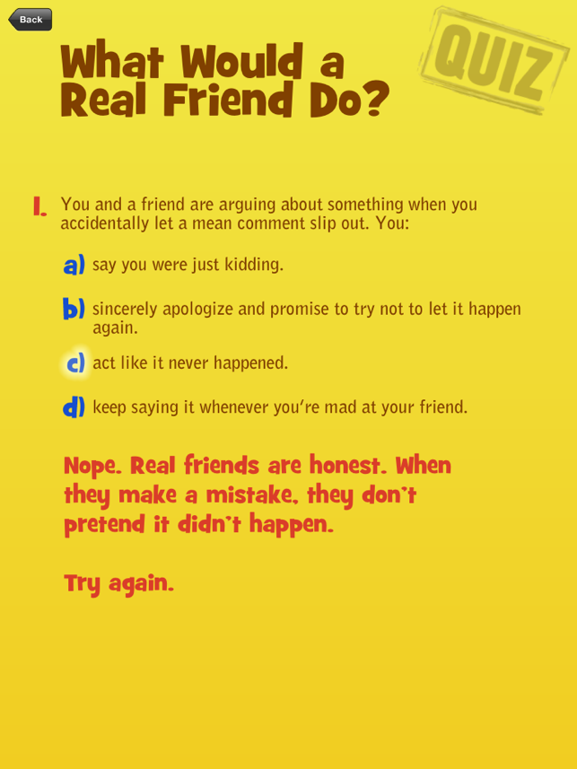 ‎Real Friends vs the Other Kind Screenshot