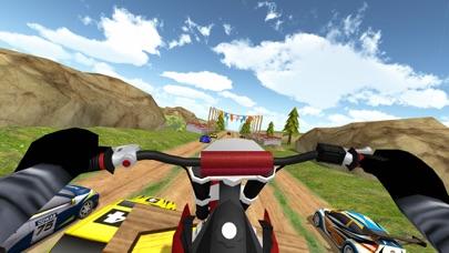 泥 ラリーオートバイ: ダートバイク レーシングのおすすめ画像3