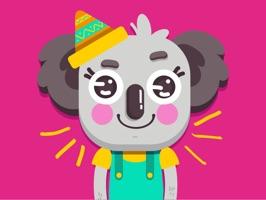 Disfruta de unos hermosos stickers Kawaii, en forma de koala