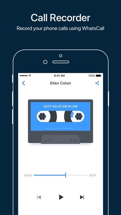 WhatsCall-Calling App+Recorder Screenshot