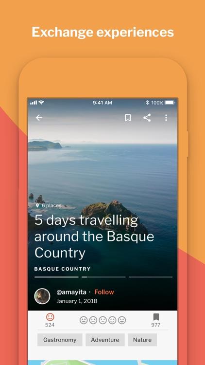 Crear y compartir viajes