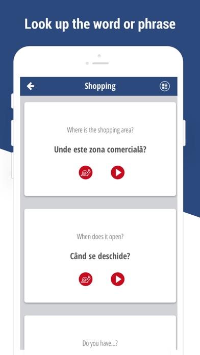 Learn Romanian Language app screenshot four