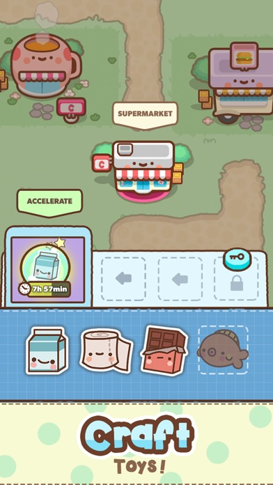 Clawbert: ToyTown Screenshot on iOS