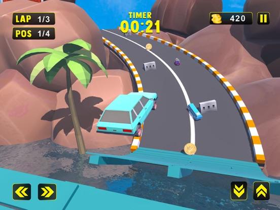 Kids Extreme Car Race 2018 screenshot 7