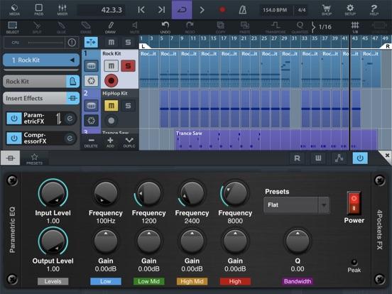 Parametric EQ AUv3 Plugin screenshot 4