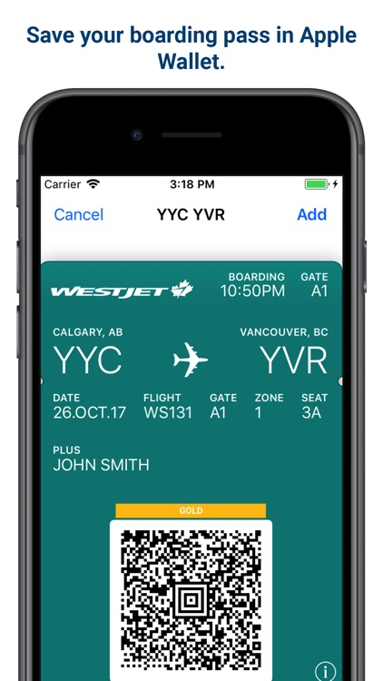 WestJet screenshot-3