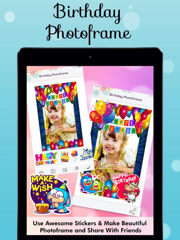 Birthday Photo Frames Maker | App Price Drops