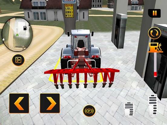Игра реальный Трактор имитатор