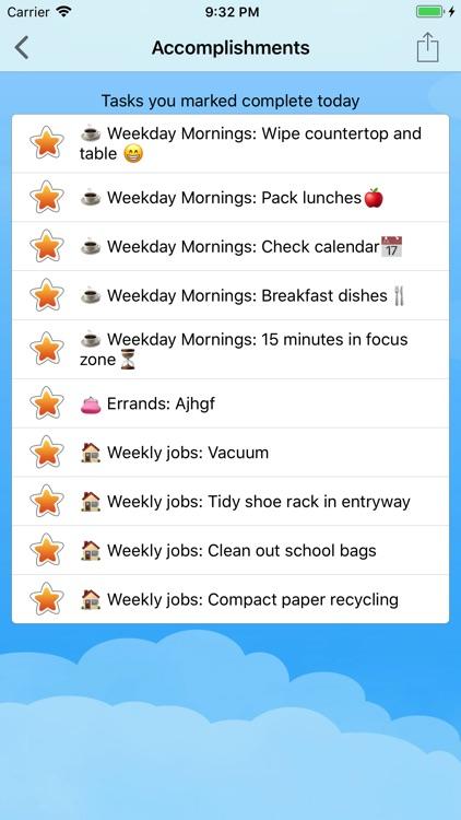 Home Routines screenshot-4