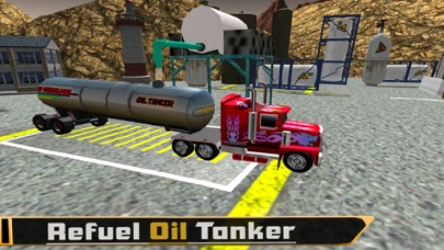 Oil Tanker Fuel Supply Truck screenshot two