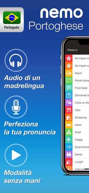 Nemo Portoghese Brasiliano Su App Store
