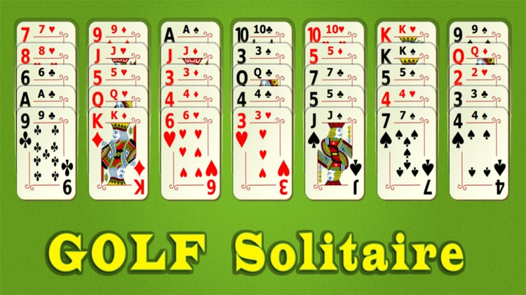 Golf Solitaire Mobile screenshot-0
