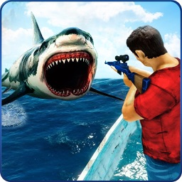 Underwater Shark Hunter Sim 3D