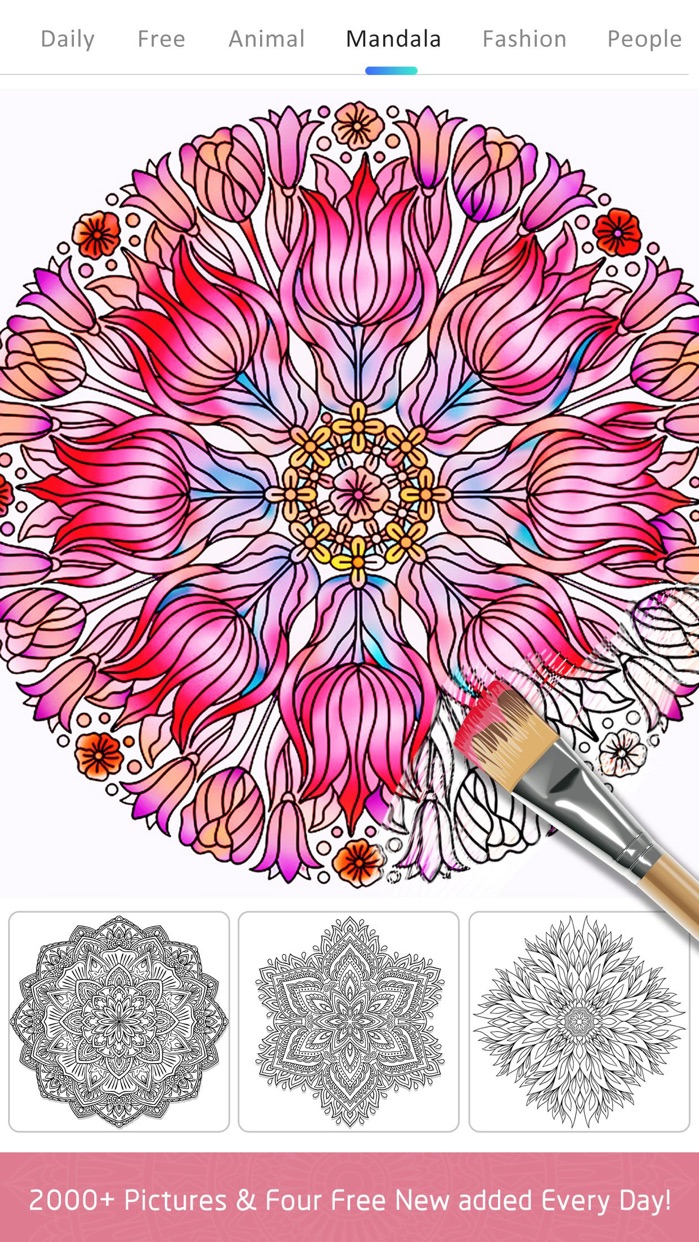 Color Doodle Coloring Book Screenshot