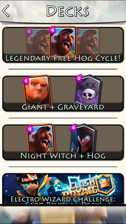 Guide for Clash Royale: Decks, Tips, Cards, Chests screenshot-3