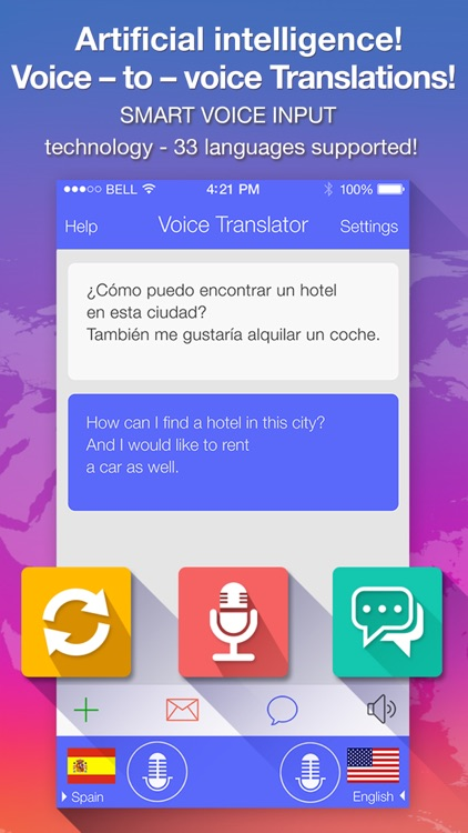 Voice Translate : translator