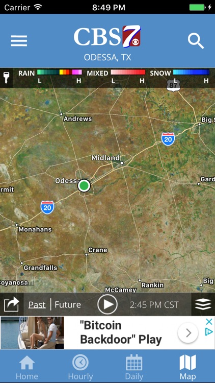 The CBS 7 Mobile Radar App screenshot-3