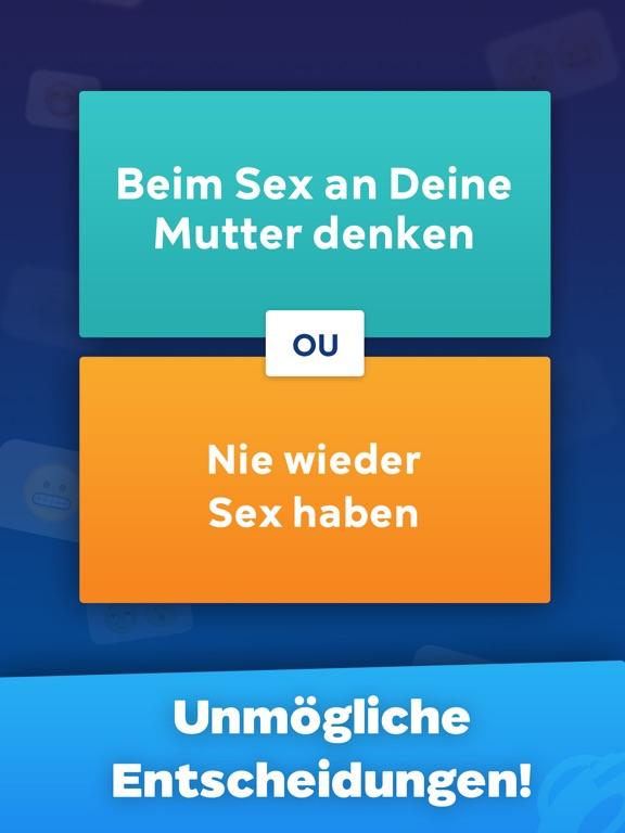 Screenshot 1 Würdest du lieber?