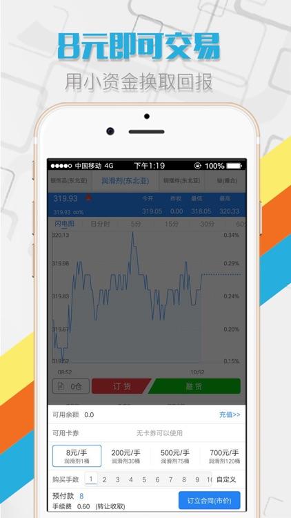 现货大师-原油贵金属投资 screenshot-3