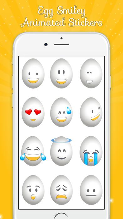 Egg Smiley Animated screenshot two