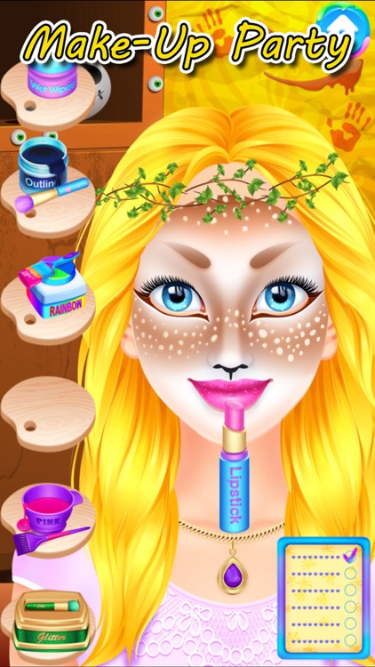 Halloween Face Paint Spa Party screenshot-3