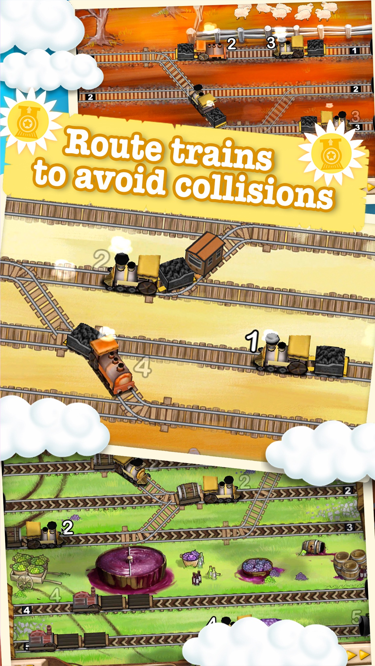 Screenshot do app Train Conductor