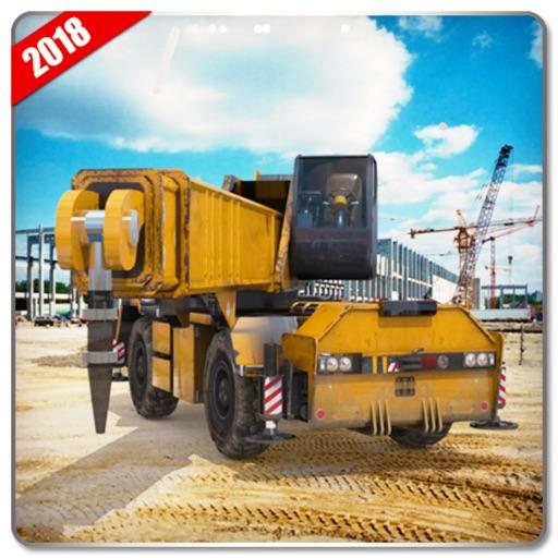 Heavy Machinery Transport Sim icon
