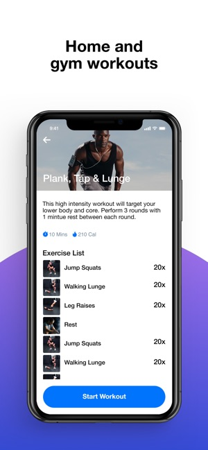 Evolv - Workout Planner Screenshot