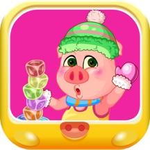 粉红小猪天天星冰乐