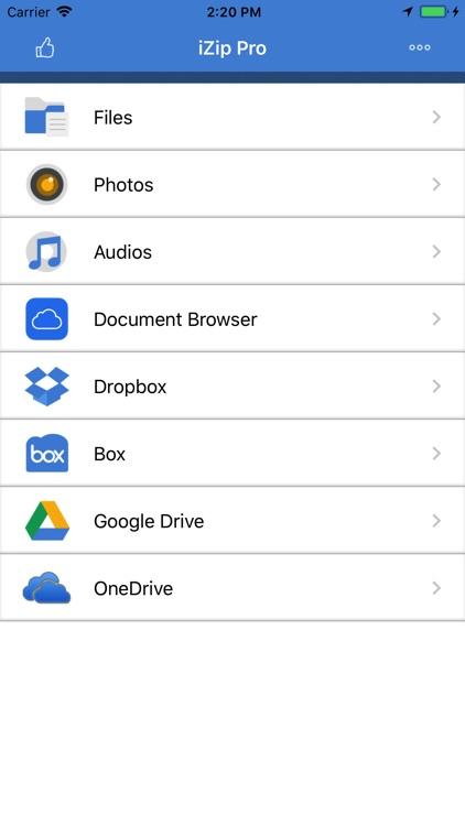 iZip - Zip Unzip Unrar Tool screenshot-0