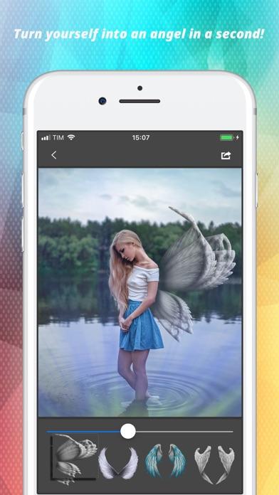 Light Wings Effect - Montage screenshot 1