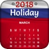 Russian Holiday Calendar 2018