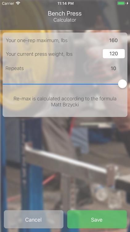 Bench Press 16 weeks screenshot-5