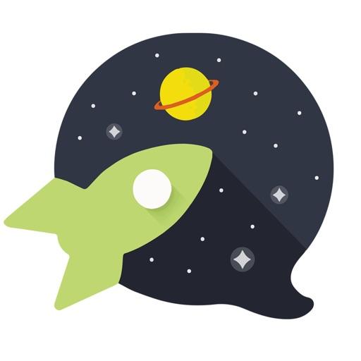 Chat Rooms, Avatars - Galaxy iOS App