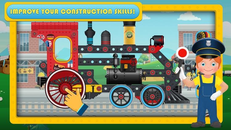 Train Simulator & Maker Games screenshot-0