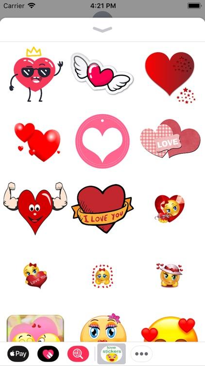 love you stickers screenshot-6