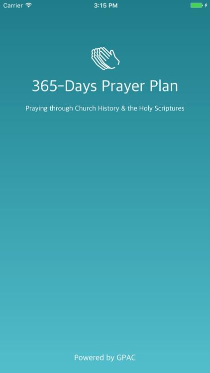 365-Day Prayer Plan