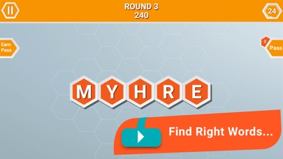 Word Honeycomb: Play and Learn screenshot two
