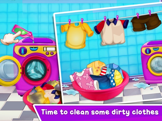 Baby Girl Home Cleaning screenshot 9